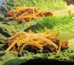 Cheeseburger Lettuce Wraps