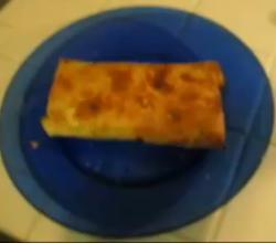 Cheese and Turkey Burrito