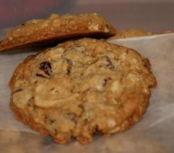 Cherry-Oat Party Cookies