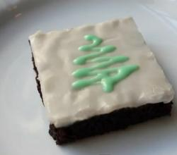Chewy Chocolate Mint Brownies