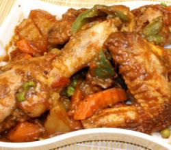 Spicy Chicken Afritada