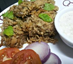 Decadent Chicken Biryani