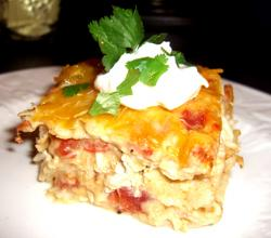 Chicken Custard Casserole