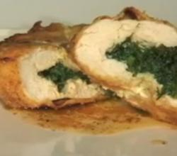 Baked Chicken and Egg Kiev