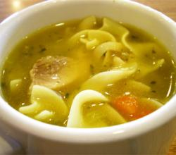 Grandma's Chicken Noodle Stew