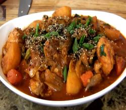 Chicken : Dakbokeumtang (Korean Spicy Chicken Stew) : Korean Food : Asian at Home