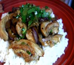 Chicken : Spicy Stir Fry Chicken with Eggplant : How to Stir Fry : Chinese Food : CHOPCHOP