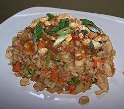 Satay-Style Chicken Fried Rice