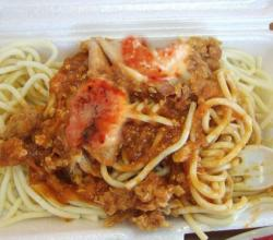 Chicken Spaghetti With Shrimp