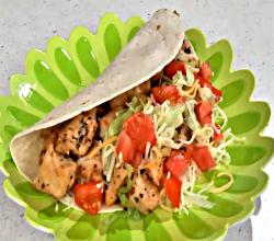 Lime Chicken Soft Tacos Recipe