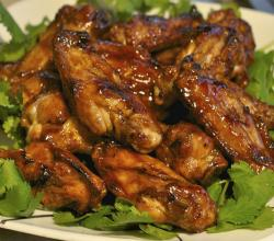 Grilled Fish Sauce Wings