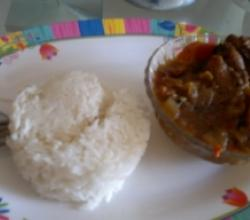 Chicken Curry - Curry au Poulet
