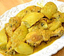 Tagine of Chicken with Fennel