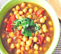 Chickpea Curry in Slowcooker