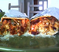 Chili Cheese Fry Burrito