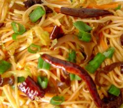 Chilli Garlic Shanghai Noodles