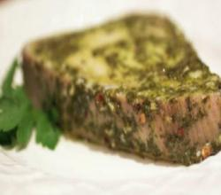 Chimichurri Sauce Baked Tuna Steaks