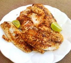 Chinese Blackened Fish