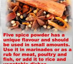 Tips On How To Use Chinese Five Spice