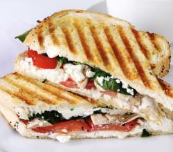 CHICKEN GOAT CHEESE PANINI