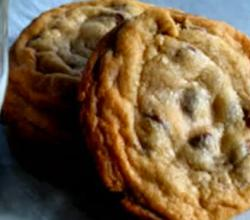 Miniature Chocolate Chip cookie