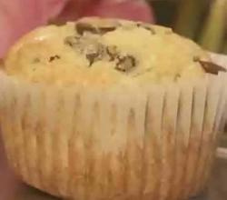 Chocolate Chip and Walnut Muffin