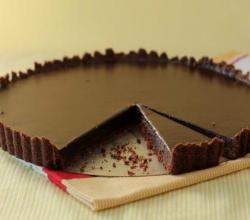 Decadent Chocolate Tart with Hazelnut Crust