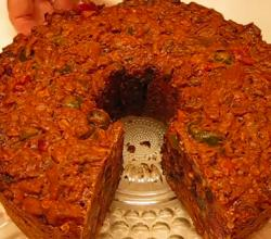 Homemade Christmas Fruitcake
