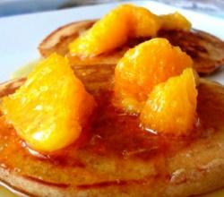 Cinnamon Orange Pancakes