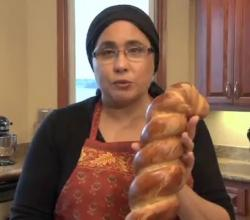 Classic Egg Challah -  Part 3 : Braiding 1, 2 and 3 Strands