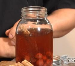 Homemade Cinnamon and Cherry Infused Whiskey