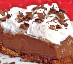 Cocoa Cloud Pie