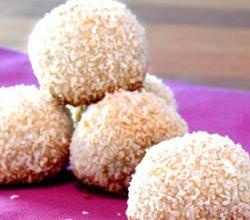 Coconut Cookie Snowballs