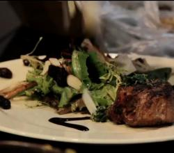 Colorado Lamb Chops with Barolo