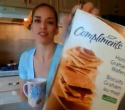 Compliments Honey Graham Wafers: What I Say About Food