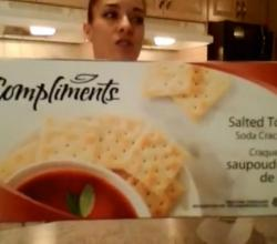 Compliments Salted Tops Soda Crackers: What I Say About Food