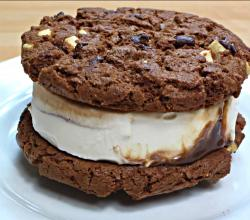 How To Make Cookie Ice Cream Sandwiches