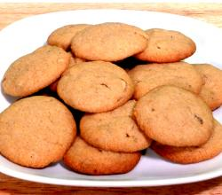 Vegetarian Whole Wheat Almond cookie