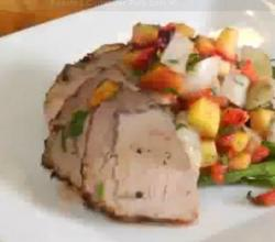 Coriander Crusted Pork Loin