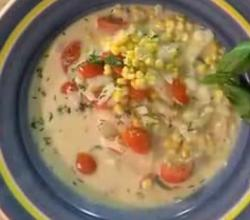 Corn and Tomato Chowder