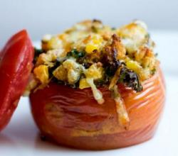 Corn Stuffed Tomatoes
