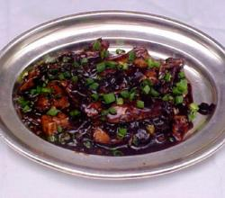Crab In Black Bean Sauce