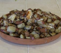 SmokingPit.com - Crabby Tater's - Potatoes, Bacon and Dungeness Crab Cooked on a Yoder YS640