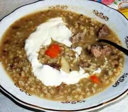 CREAM OF BARLEY SOUP