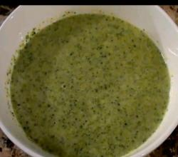 Cream of Broccoli and Gruyere Soup
