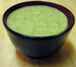 Cream Of Broccoli Leek Soup