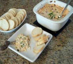 Creamy Bacon and Cheese Superbowl Dip