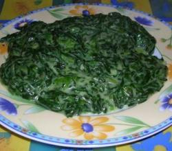 Microwave Spinach Supreme