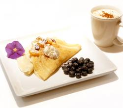 Blueberry, Banana and Pear Crepes