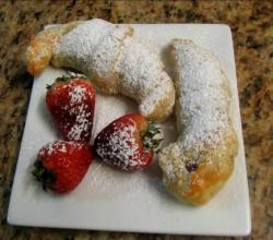 Hazelnut Crescents